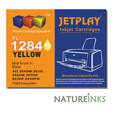 1 x Jetplay Yellow T1284 ink S22 SX125 SX130 SX235W SX420W SX425W SX435W UNBOXED