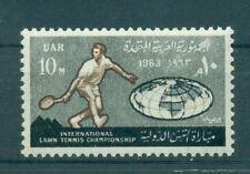 TENNIS - EGYPT U.A.R. 1963