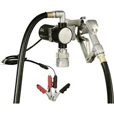 """Fuel Transfer Pump - 1/4 HP - 12 Volt - 8 GPM - Inlet Outlet 3/4"""" - 3,000 RPM"""