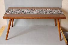 Beistelltisch Tisch Blumenhocker 50er / 60er Jahre Mosaik