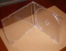 10 CD Hüllen durchsichtig transparent Case Cases Maxi SLIM Slimcase 5 mm Neu