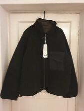 Uniqlo U Fleece Lined Full-Zip Reversible Jacket Black - XL