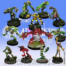 Fantasy Football - SLANN TEAM 12 Players with KROXIGOR for Blood Bowl - Mano