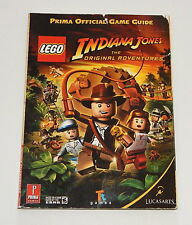Lego Indiana Jones Prima Strategy Guide Book Xbox 360 Psp Ps3 Ps2 Wii PC games