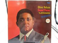 Oliver Nelson - Sound Pieces LP - ABC Impulse - AS-9129 VG+ cover VG+