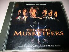 Vintage THE THREE MUSKETEERS Motion Picture Soundtrack CD 267
