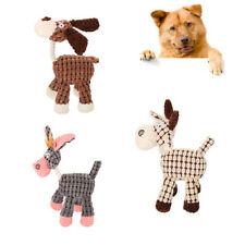 FP- FT- BH_ CO_ New Donkey Sound Squeaky Squeaker Pet Dog Chewing Bite Teeth Cle