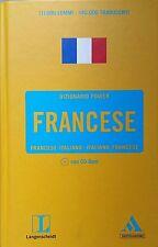 Diccionario Energía Francese Mondadori Langenscheidt con CD Rom Muy Buen Estado