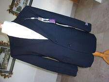 "BNWT Smart M&S Performance Men's Navy Suit Jacket Chest 40"" Med - Wool/Lycra"
