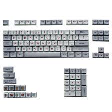 XDA Keycap Mario PBT Key Caps 87 104 Full Set For Cherry MX 6.25X Space Keyboard