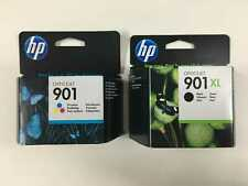 2-Pack original HP Tinten HP 901XL Black HP 901 Color SD519AE OVP 2017 Rechnung