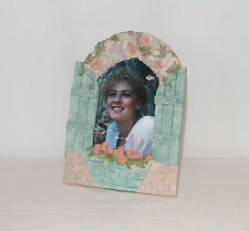 New Russ Floral Vine / Window Shutters . Table Top 3.5 x 5 Photo Frame