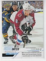 2019-20 Upper Deck Game Dated Moments February Cale Makar #48 Rookie