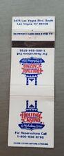 Vintage Matchbook Holiday Inn Casino Las Vegas Strip Nevada Friendliest Rare htf