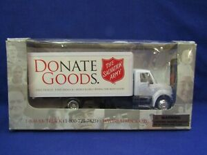 The Salvation Army Donate Goods International Truck 1:43 Scale NEW
