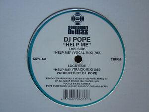 "House Garage Vocal 90s 12""-DJ Pope/Ed Ramsey-Help Me-US Soundmen On Wax"