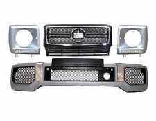 Mercedes Benz W463 G class AMG BODY KIT G63 G65 front bumper + grille + led drl