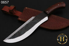 "Custom Handmade Carbon Steel Hunting Knife ""15"" Bowie Knife Tracker Knife 0657"