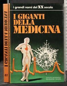I GRANDI NOMI DEL XX SECOLO. I GIGANTI DELLA MEDICINA. AA.VV. De Agostini.