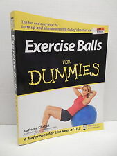 Exercise Balls For Dummies Health Fitness Guide Book Weight Loss LaReine Chabut