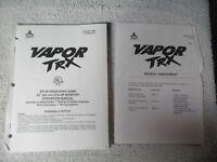 VAPOR TRX ATARI    arcade game manual