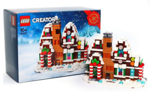 LEGO 40337 Creator Microscale Gingerbread House Set - Brand New In Sealed Box