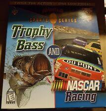 NASCAR RACING TROPHY BASS All American Sports Series (PC, 1998) - PC - BIG BOX