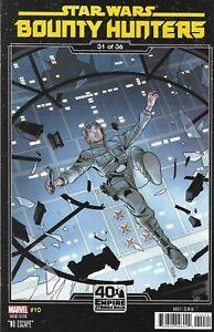 Star Wars Bounty Hunters Comic 10 Cover B Variant Chris Sprouse 2020 Ethan Sacks