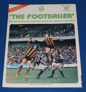 1978 The Footballer VFL Players Association Magazine - Bruce Doull Poster
