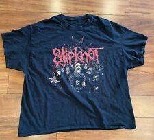 Vintage SLIPKNOT 2010 NORTH AMERICAN SUMMER TOUR T Shirt Size 2XL