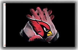 Arizona Cardinals Football Memorable Gloves Flag 90x150cm 3x5ft Fan Best Banner
