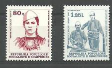 Albania Albanien Albanie 1977 MiNr 1901 - 1902 MNH**