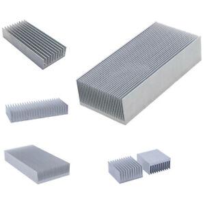 1x Aluminium Kühlkörper Hitze Sinken Kühlung Fin Kühler Heatsink Wärmemanagement