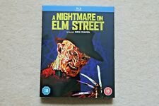 BLU-RAY A NIGHTMARE ON ELM STREET WITH LIMITED EDITION SLIPSLEEVE  NEW SEALED UK