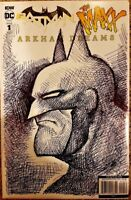 DC IDW Comics BATMAN MAXX ARKHAM DREAMS #1 NM Virgin Variant + Original Sketch