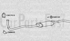 FRONT PIPE & SILENCER BOX Austin Metro 1.0 Petrol Hatchback 10/1984 to 01/1986