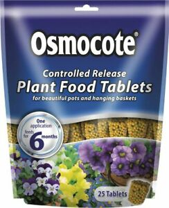 Osmocote Controlled Release Plant Food Tablets Pack 25 [018501]