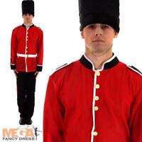 Royal Guard Soldier Mens Fancy Dress British Uniform Adult National Costume New