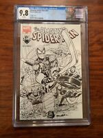 Amazing Spider-Man #667 CGC 9.8 Montreal Comic Con 2011 Sketch Custom Label