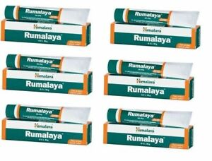 6X Himalaya Herbal Rumalaya Gel 30g Pain Relief Joint Body muscle pain FREE SHIP