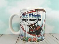 Six Flags Magic Mountain Coffee Mug MICHELLE Rollercoaster Theme Park