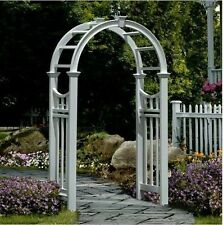Outdoor Garden Vinyl Arbor White Backyard Wedding Decor Pergola Archway Arch