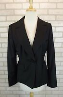 NEW $228 Ann Taylor Womens Blazer Coat Sz 8 Jacket NWT Suit Dress Pinstripe Wool