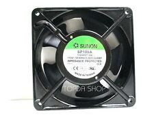 SUNON SP100A 1123XST.GN Cooling fan AC115V 0.26/0.24A 50/60Hz 120*120*38mm