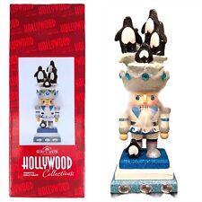Kurt S Adler Hollywood Nutcracker  Penguin Hat Holly Adler Design NEW OPEN BOX