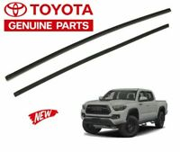 2016-2019 Tacoma Wiper Blade Inserts Rubber Replacement (SET) Genuine Toyota