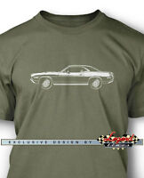 1970 Plymouth 'Cuda 440 Coupe Men T-Shirt - Multiple Colors & Sizes American Car
