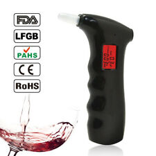 Alcohol Breathalyzer Tester Professional Digital Detector Lcd Display Safety