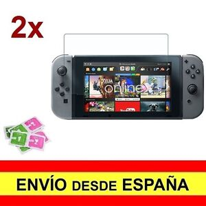 2x tempered glass for nintendo switch premium 2x screen protector a2618 nt