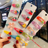 5Pcs/Set Fruit Sequin Princess Baby Girl Hair Clip Hairpin Barrettes Accessories